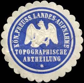 K. Pr. Landes-Aufnahme Topographische Abtheilung