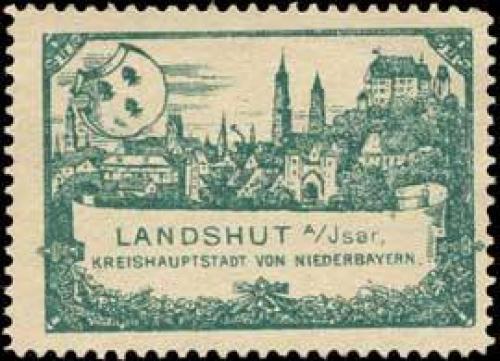 Landshut Kreishauptstadt von Niederbayern