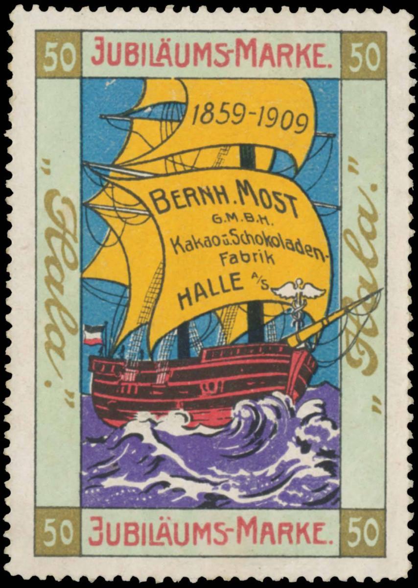 Kakao & Schokolade 50 Jahre Hala 1859-1909