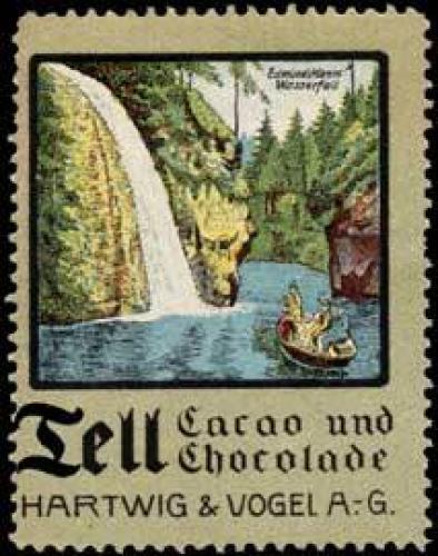 Edmundsklamm Wasserfall