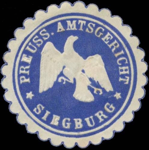 Pr. Amtsgericht Siegburg
