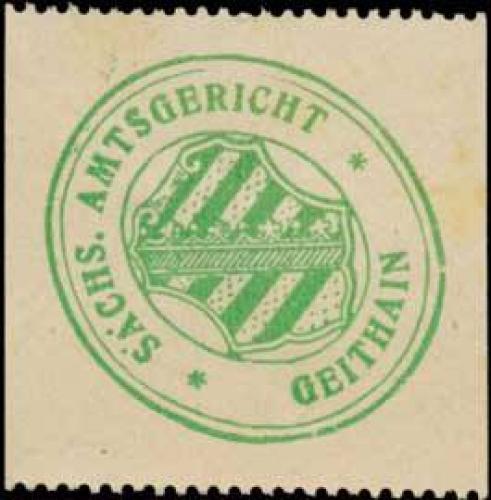 S. Amtsgericht Geithain (Borna)