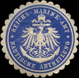 Reichsmarineamt - Nautische Abtheilung