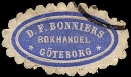 Bokhandel D.F. Bonniers-Göteborg