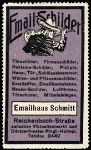 Email-Schilder
