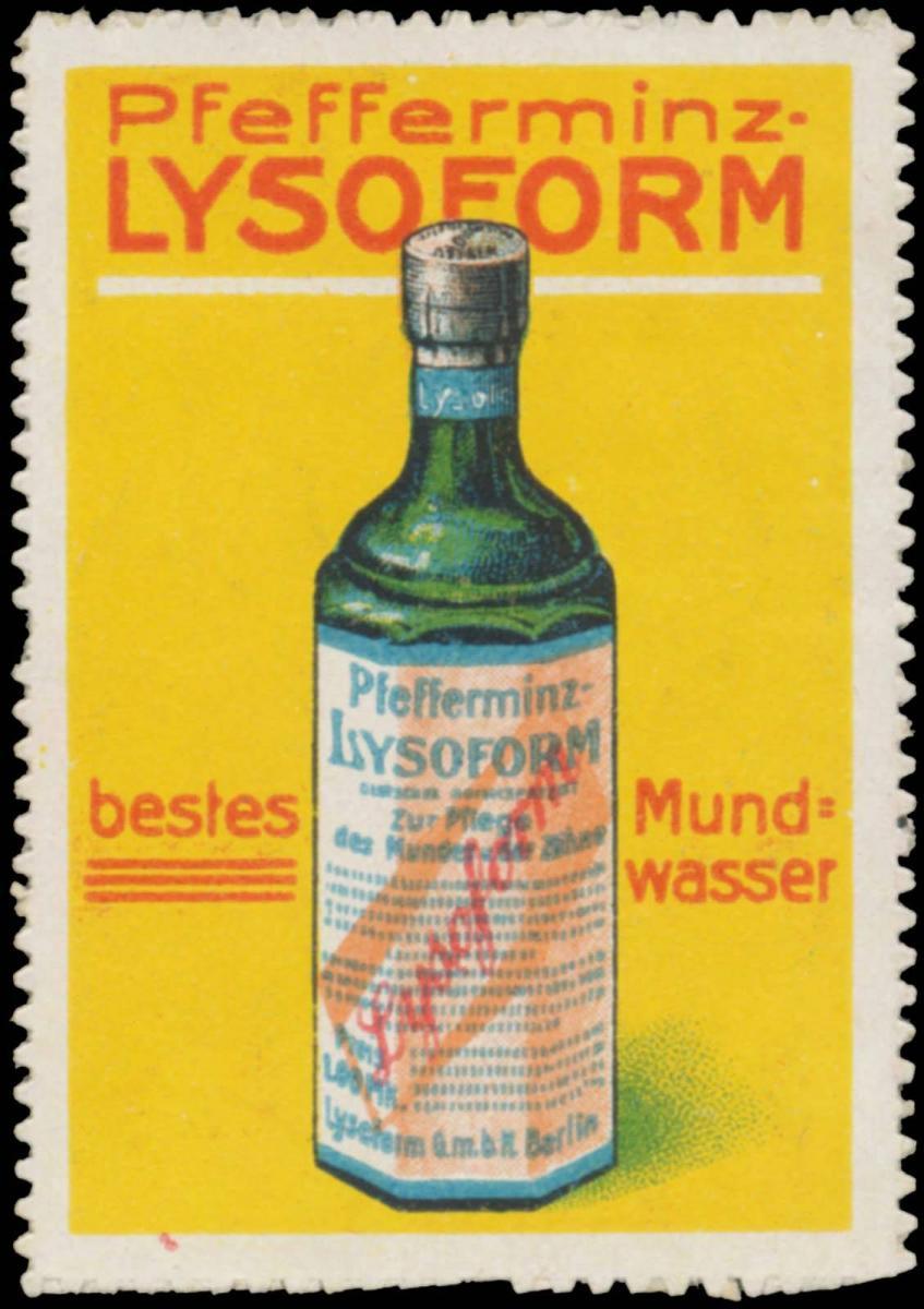 Pfefferminz-Lysoform Mundwasser