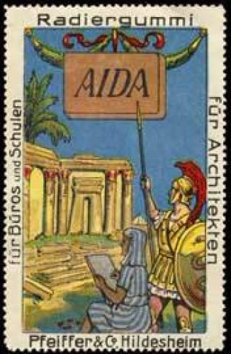 AIDA Radiergummi 0