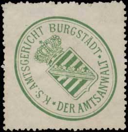 K.S. Amtsgericht Burgstädt der Amtsanwalt