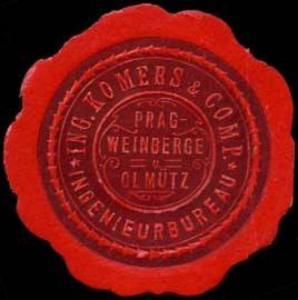 Ingenieurbureau Ing. Komers & Comp. Prag-Weinberge-Olmütz
