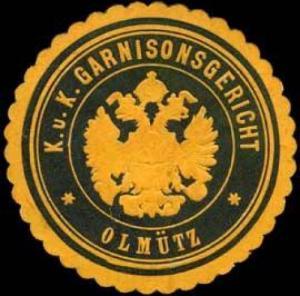 K. u. K. Garnisonsgericht - Olmütz
