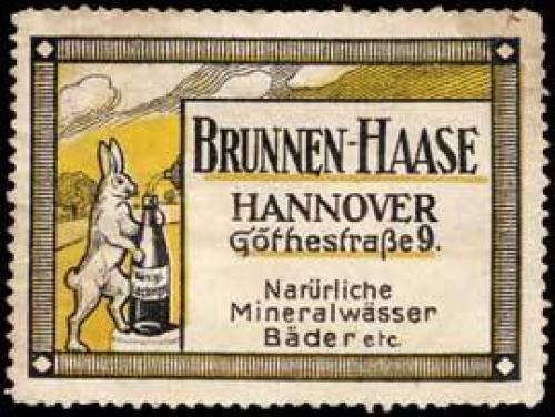 Brunnen-Haase Mineralwasser (Hase)