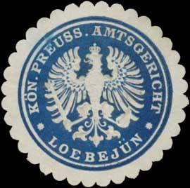 K.Pr. Amtsgericht Loebejün