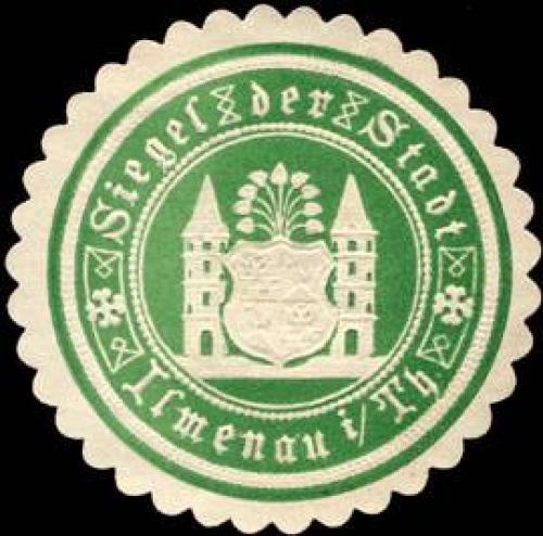 Siegel der Stadt - Ilmenau in Thüringen