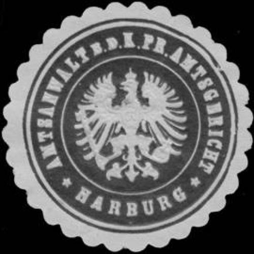 Amtsanwalt b.d. K.Pr. Amtsgericht Harburg