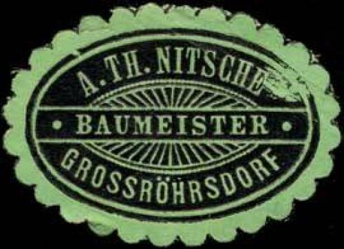 Baumeister A. Th. Nitsche - Grossröhrsdorf