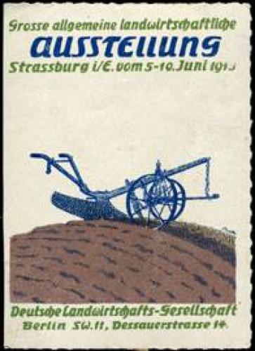 Grosse allgemeine Landwirtschaft - Ausstellung