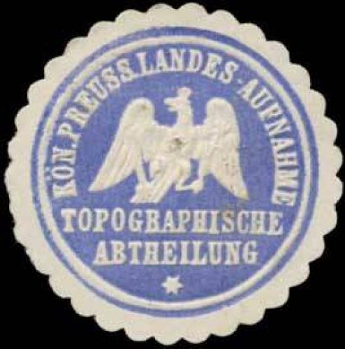 K.Pr. Landes-Aufnahme Topographische Abtheilung