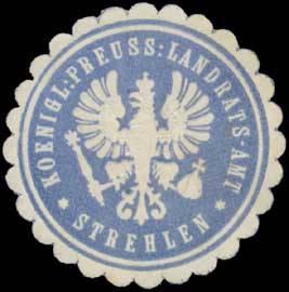 K.Pr. Landrats-Amt Strehlen