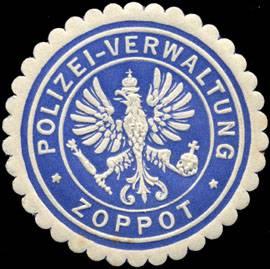 Polizei - Verwaltung Zoppot