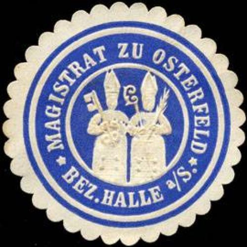 Magistrat zu Osterfeld - Bezirk Halle an der Saale