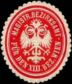 Magistr. Bezirksamt für den XIII. Bezirk Wien