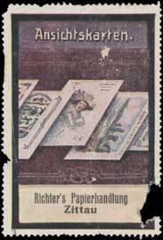 Ansichtskarten aus Richters Papierhandlung
