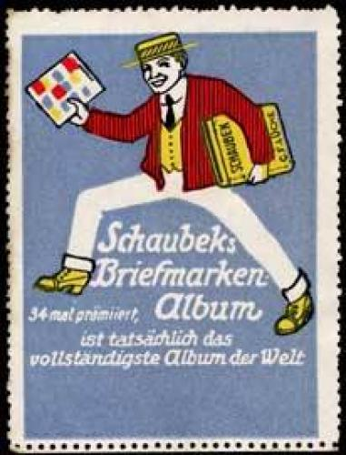 Schaubeks Briefmarkenalbum
