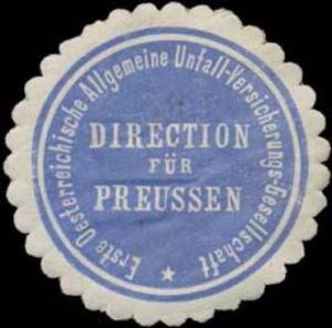 Erste Oesterreichische Allgemeine Unfall-Versicherungs-Gesellschaft
