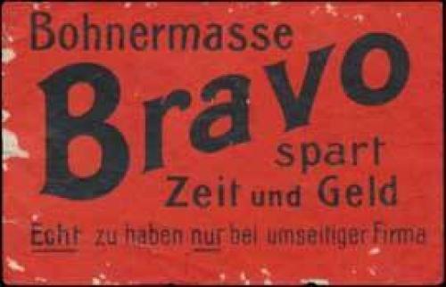 Bohnermasse Bravo
