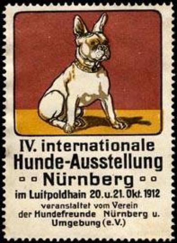 IV. Internationale Hunde - Ausstellung