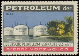 Petroleum brennt vorzüglich