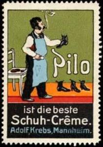 Pilo ist die beste Schuh - Creme