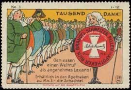 Brandts Schweizer Pillen - Abführmittel