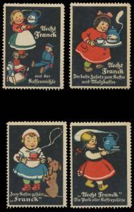 Aecht Franck Kaffee - Kinder-Serie Sammlung