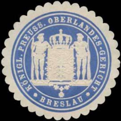K.Pr. Oberlandes-Gericht Breslau