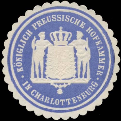 K. Pr. Hofkammer in Charlottenburg (Schloss)