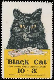 Black Cat - Virginia Cigarettes