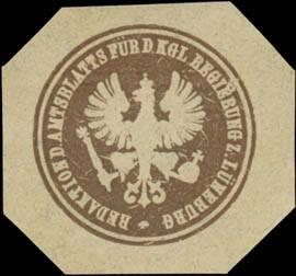 Redaktion des Amtsblatts für d. Kgl. Regierung zu Lüneburg