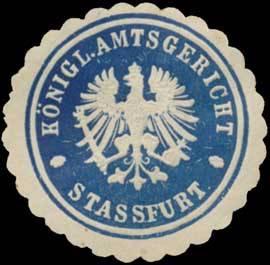 K.Pr. Amtsgericht Staßfurt