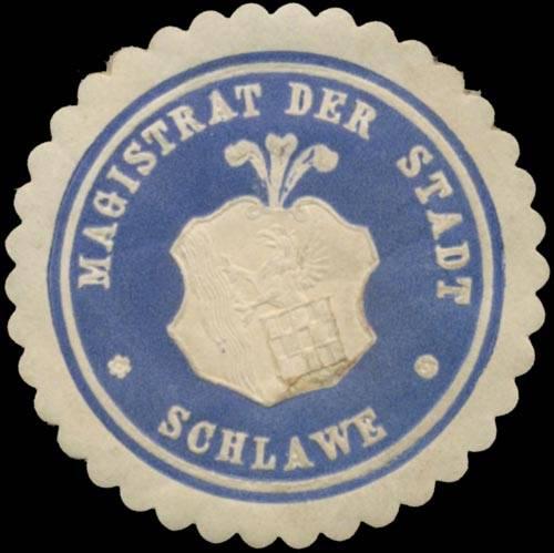Magistrat der Stadt Schlawe