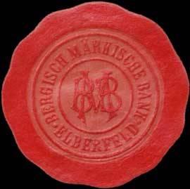 Bergisch Märkische Bank Elberfeld