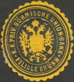 K.K. priv. Böhmische Union-Bank