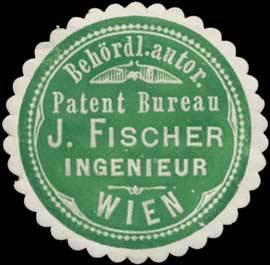 Behördl. Autor. Patent Bureau J. Fischer