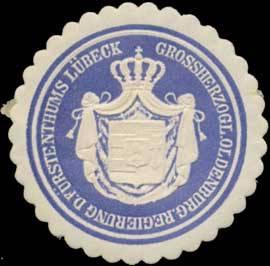 Grossherzogl. Oldenburg. Regierung des Fürstenthums Lübeck