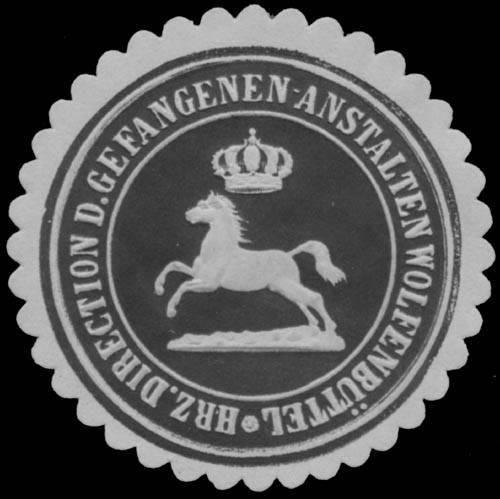 H. Direction d. Gefangenen-Anstalt Wolfenbüttel