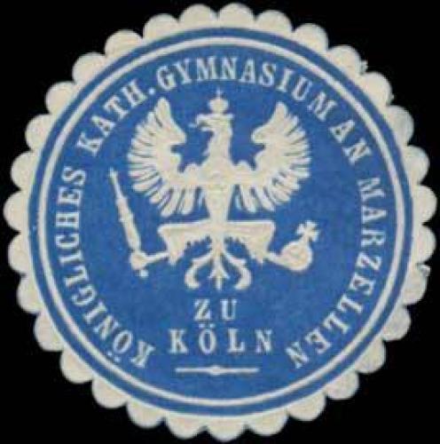 K. Katholisches Gymnasium an Marzellen zu Köln