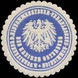 Der Vorsitzende der Einkommensteuer Veranlagungs Kommission des Kreises Osterburg