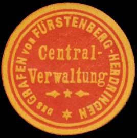Centralverwaltung des Grafen von Fürstenberg-Herdingen