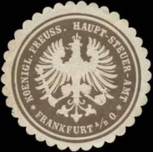 K. Pr. Haupt-Steuer-Amt-Frankfurt an der Oder