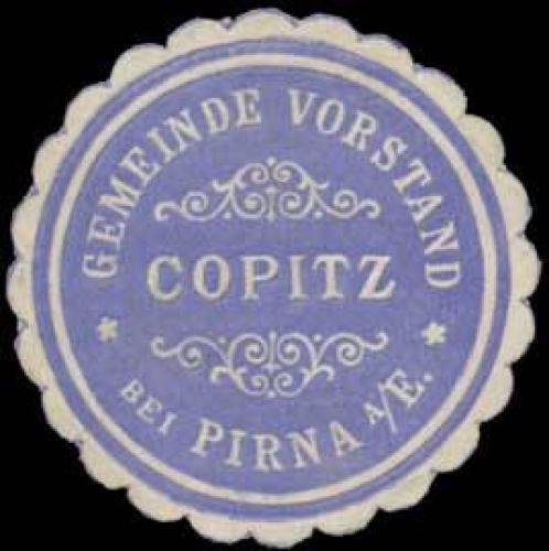 Gemeinde Vorstand Copitz bei Pirna